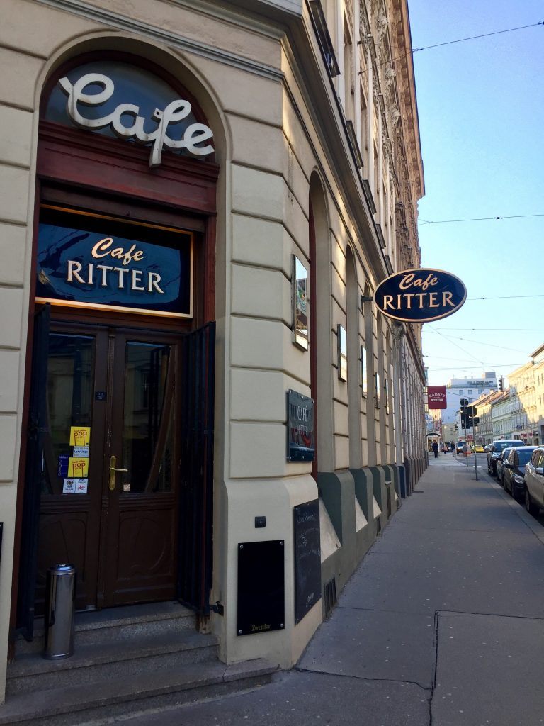 Cafe Ritter in Ottakring, 1160 Wien.
